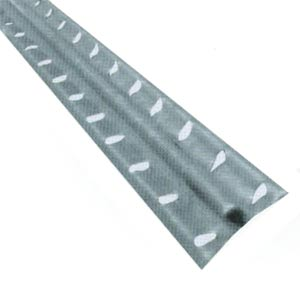Маяк штукатурный перфорированный 6 мм (маячок) (2,5 м)