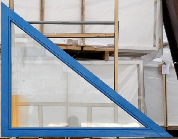 Окно деревянное одинарной конструкции