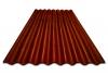 Коричневый волновой кровельный лист (5 мм)